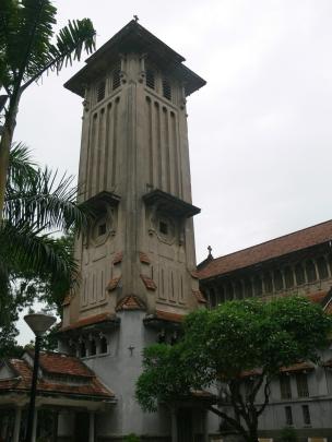 Cửa Bắc Church Steeple, Phan Đình Phùng Street, Quán Thánh, Ba Đình, Hà Nội, Vietnam