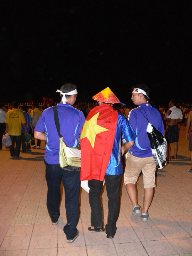 Even though Japan bet Vietnam in the AFC Asian Cup 2007 - we were all friends at the end of the day !