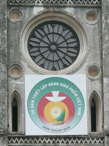 St Joseph Cathedral, Hanoi - stained glass window