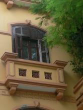 Decorative balcony.