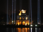 Hoan Kiem Lake - Turtle Tower - by day or night it is a treasure to see, Hanoi, Vietnam