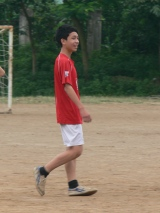 Young Vietnamese Football Player