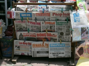 Newspapers available 19 June 2010.
