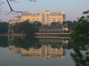 The whole Hoan Kiem Lake area was developed by the French.