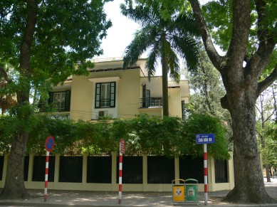 Stunning home on Pho Chu Van An in Hanoi