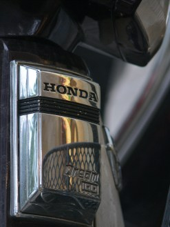 Honda - the real McCoy - a Honda Deam, very popular bike in Vietnam.