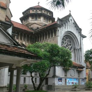 Cửa Bắc Church, Phan Đình Phùng, Quán Thánh Street, Ba Đình, Hà Nội, Vietnam