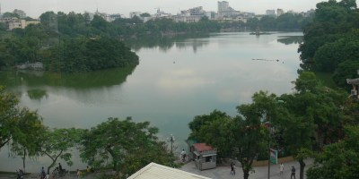 Great view of Hoan Kiem Lake from Illy Coffee, Hanoi
