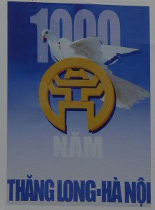 Poster: 2010 - 1,000 years Thang Long - Hanoi