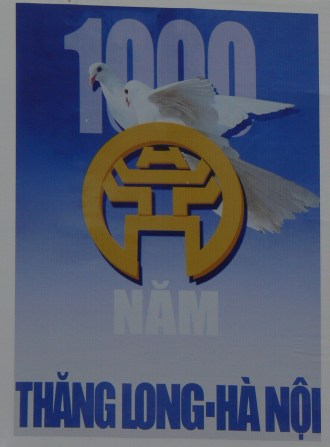 Poster: 2010 - 1,000 years Thang Long - Hanoi