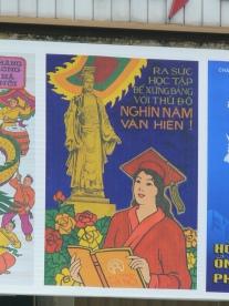 2010 Poster - Ly Thai To, Hanoi, Vietnam.