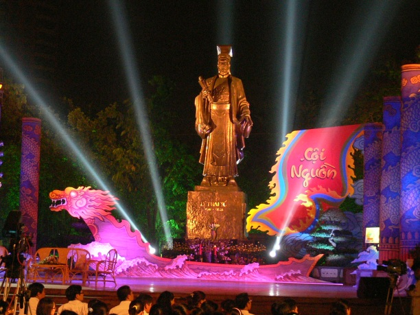 A concert in Le Thai To's honor ! Hanoi, Vietnam