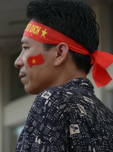 Vietnamese Football Supporter