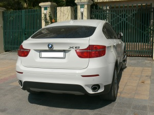 2010 photo - X6 BMW, Hanoi, Vietnam