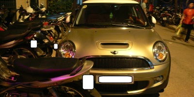 2010 photo - Mini Cooper, Hanoi, Vietnam