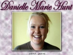Danielle Hunt my 18 year old niece that got killed in a car crash in 2006, Reefton, New Zealand.