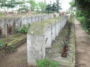 Hanoi cemetery.