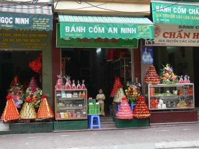 Don't worry you don't need to prepare all of that yourself as shops who specialize in this line of goods some streets such as Hang Than Street in Hanoi.