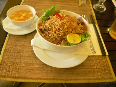 Bún bò Nam Bộ / Bun Bo Nam Bo - Sautéed beef on bún noodles, southern style, but sounds more like words of a song to me !!