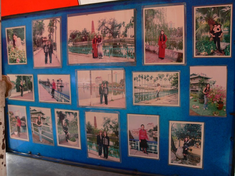 Street Photographer display stand
