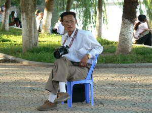 Vietnamese street photographer