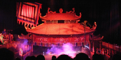 Thang Long Water Puppet Theatre - wonderful performance and so worth going to for young and old.