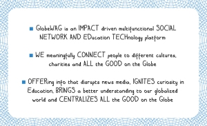 2013 GlobeWAG - back of business card