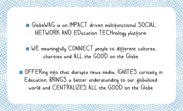 2013 GlobeWAG - back of business card