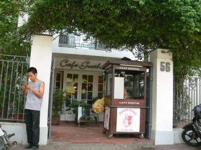 Cafe Goethe, understated elegance on Nguyễn Thái Học Street, Hà Nội